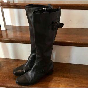 Circa Joan David tall black boots Size 9 M